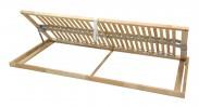 Rošt Double klasik - 80x200 cm, výklopný do boku