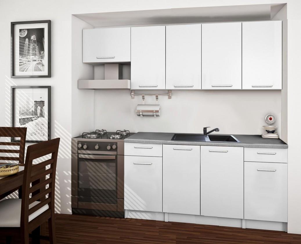 Rovná Basic - kuchyňský blok A 220 cm