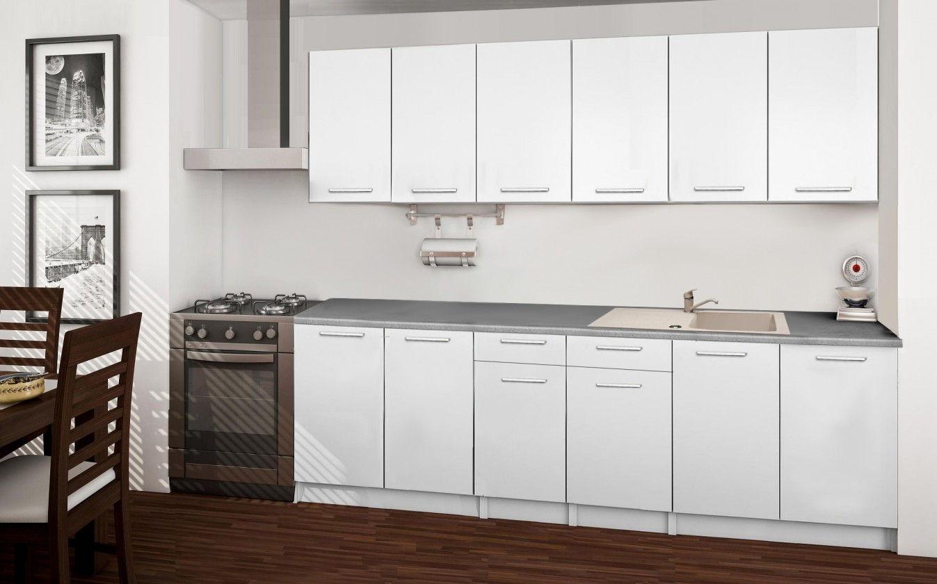 Rovná Basic - kuchyňský blok A 240 cm