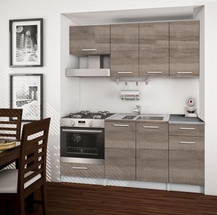 Rovná Basic - kuchyňský blok B, 180 cm (dub truffle)
