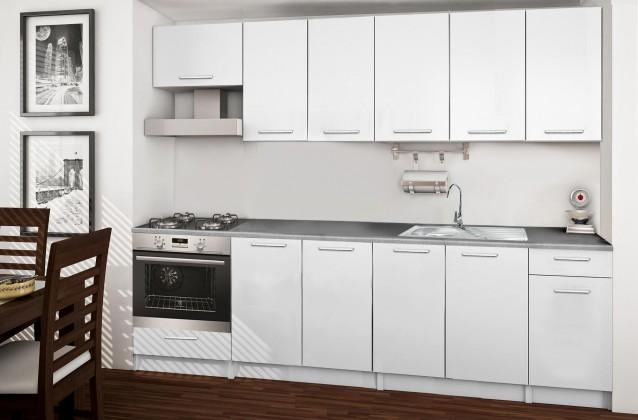 Rovná Basic - kuchyňský blok B 260 cm