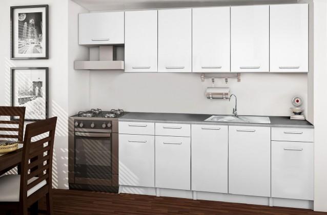 Rovná Basic - kuchyňský blok F 260 cm