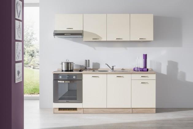 Rovná Bria - Kuchyňský blok 210 D (bardolino/vanilka lesk/bardolino)