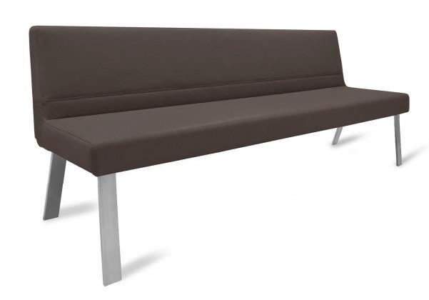 Rovná lavice Sam 180  (4 nohy/montana tmavě hnědá)