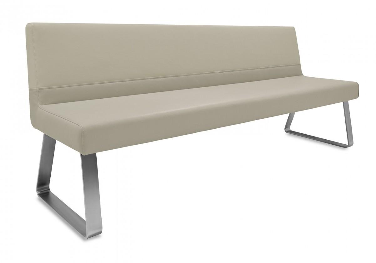 Rovná lavice Sam 180  (kluzáky/star kaki)