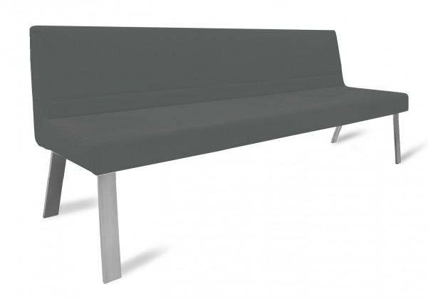 Rovná lavice Sam 220  (4 nohy/eko kůže hawaii černá)