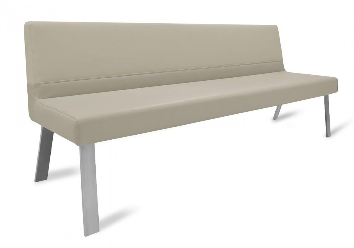 Rovná lavice Sam 220  (4 nohy/star kaki)