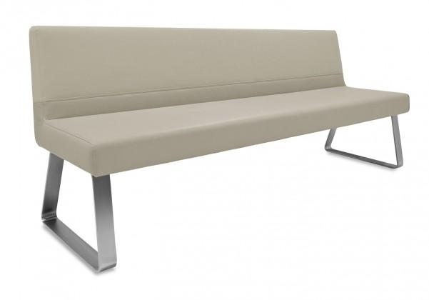 Rovná lavice Sam 220  (kluzáky/star kaki)
