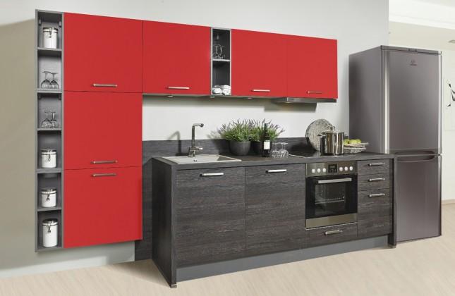 c20948f2e3b2 ... Rovná Misano - Kuchyně 280 320cm (červená