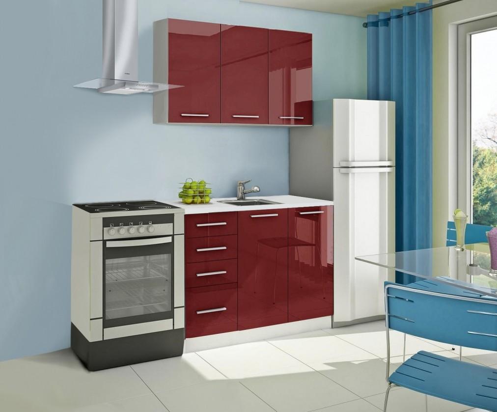 Rovná Mondeo - kuchyňský blok A 120 cm (pracovní deska - mramor)