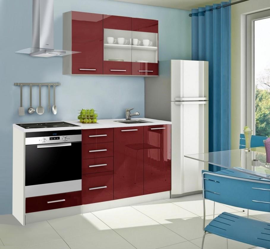 Rovná Mondeo - kuchyňský blok E 120/180 cm (pracovní deska - mramor)