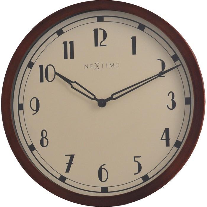 Royal - hodiny, nástěnné, kulaté (kov, sklo, černé)