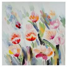Ručně malovaný obraz Tulips (80x80 cm)