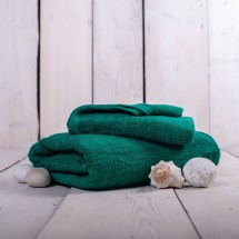 Ručník a osuška OR05 (tmavě zelená, 50x100 cm, 70x140 cm)