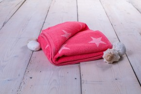 Ručník Stars (růžová, 50x100 cm)