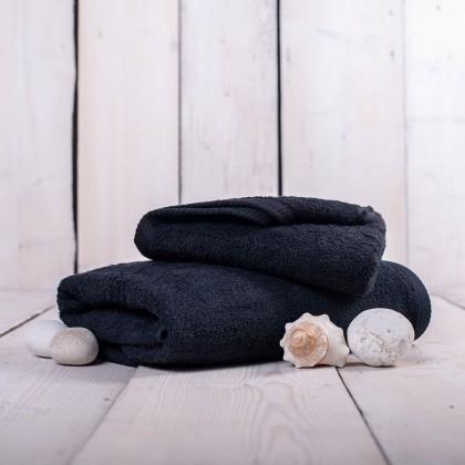 Ručníky a osušky Ručník a osuška OR02 (černá, 50x100 cm, 70x140 cm)