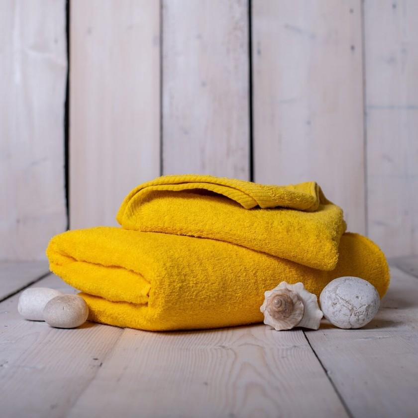 Ručníky a osušky Ručník a osuška OR09 (žlutá, 50x100 cm, 70x140 cm)