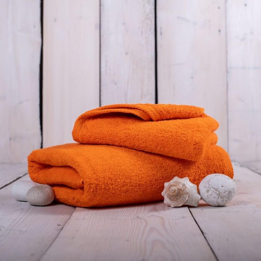Ručníky a osušky Ručník a osuška OR10 (oranžová, 50x100 cm, 70x140 cm)