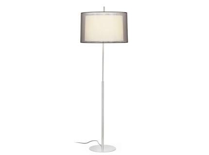 Saba - Podlahová lampa (matný nikl)