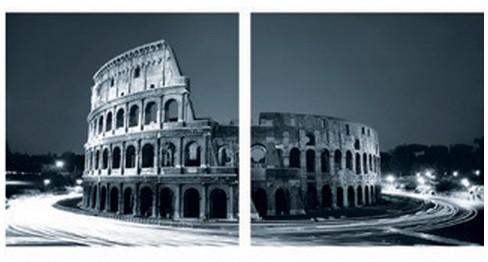 Sada obrazů, 2ks (Colloseum)