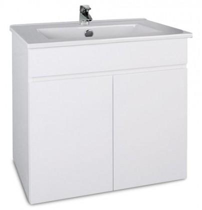 Saint-Lo - Skříňka s umyvadlem 60 cm (bílá vysoký lesk)