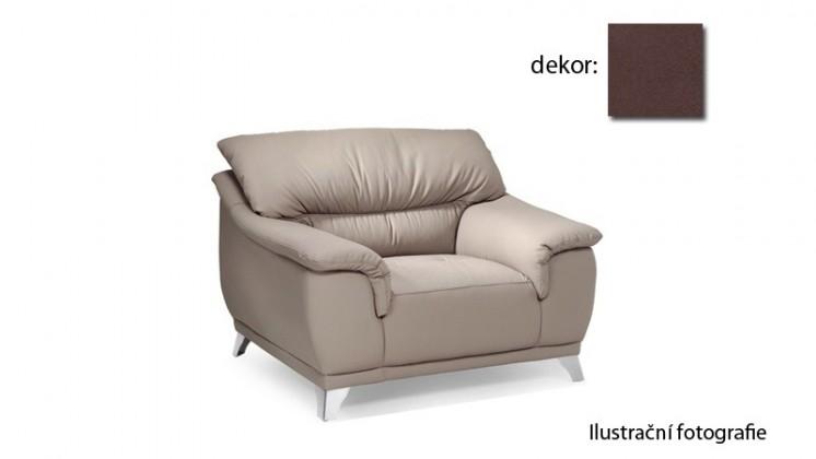 Samostatné křeslo Dunja - křeslo (new lucca - espresso P711, sk. E1)