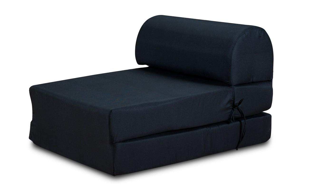 Samostatné křeslo Křeslo Marino rozkládací černá