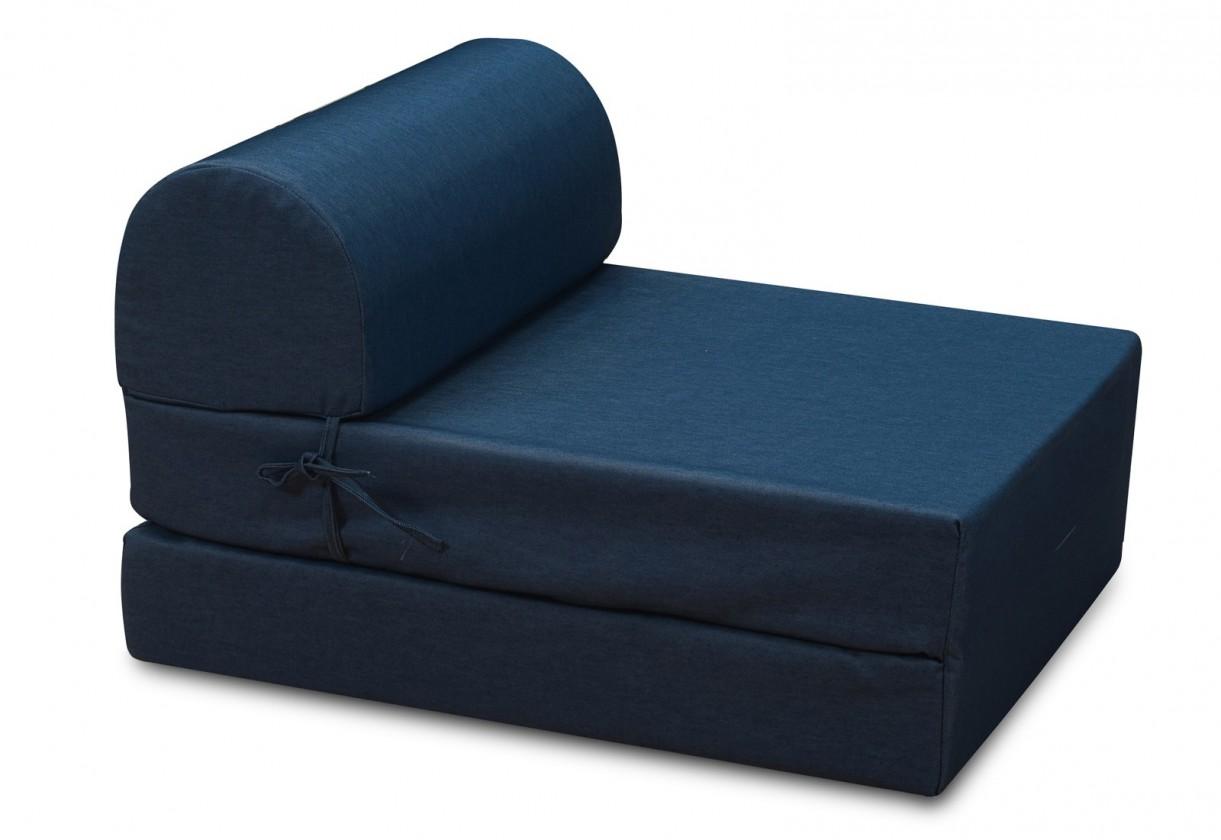 Samostatné křeslo Křeslo Marino rozkládací modrá