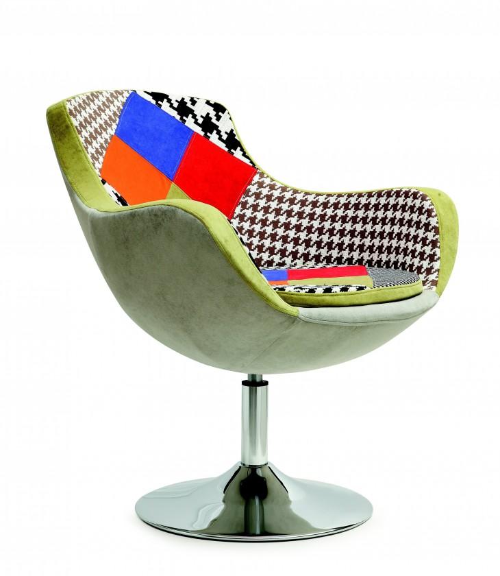 Samostatné křeslo Křeslo Origami barevné