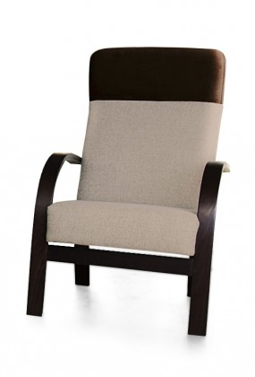 Samostatné křeslo Laura - křeslo (sedák - orinoco 23/pruh - eko kůže)