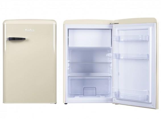 Samostatné lednice Chladnička retro s mrazničkou Amica VT 862 AM, A++