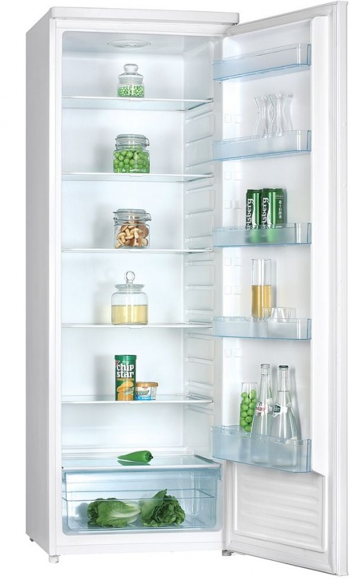 Samostatné lednice Jednodveřová lednice Guzzanti GZ 340
