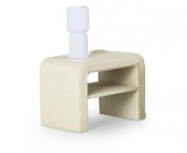Sara - Noční stolek (béžová)