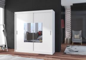 Šatní skříň Eira - 180x215x61 (bílá)