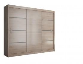 Šatní skříň Multi - 250/215/61 (sonoma)