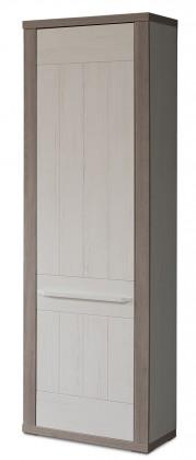 Semi - Skříň, 1x dveře pravé, 2xpolice (pino aurelio/dub nelson)