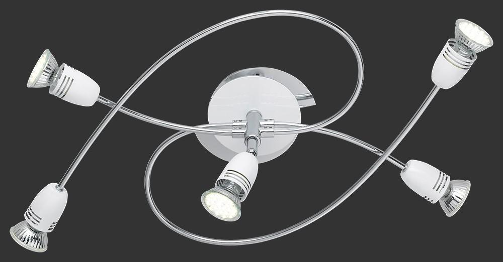 Serie 8287 - TR 628710501, GU10 (stříbrná)
