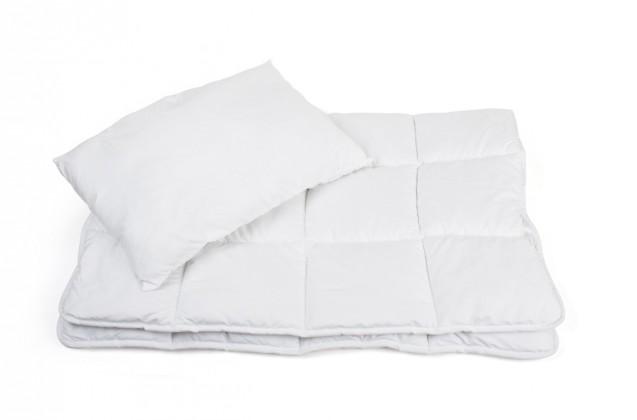 Set Gioco - Set, polštář + přikrývka, dětská (bílá)