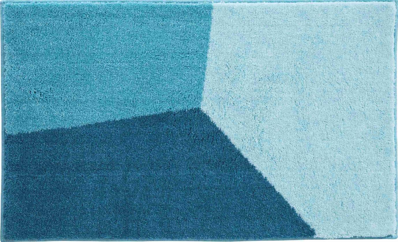 Shi - Koupelnová předložka 60x100 cm (tyrkysová)