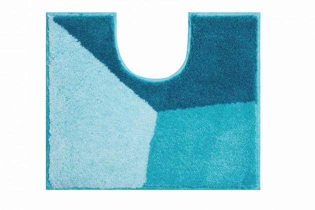 Shi - WC předložka 50x60 cm (ledově modrá-petrolejová)