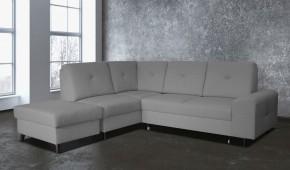 Silver - Roh levý, rozkládací, úl. prostor, taburet (kreta 03)