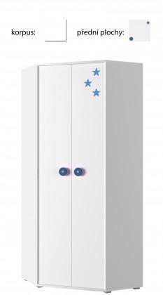 Simba 6(korpus bílá/front bílá a modrá)