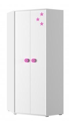Simba 6(korpus bílá/front bílá a růžová)