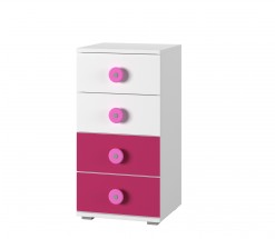Simba 9(korpus bílá/front bílá a růžová)