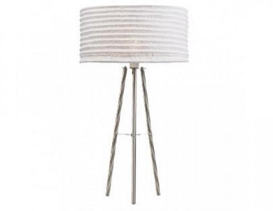 Skephult - Lampa stolní (kov/textil/béžová)
