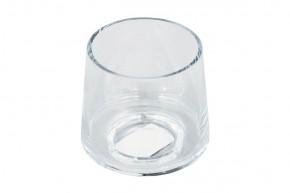 Skleněná váza VS08 (čirá, 9 cm)