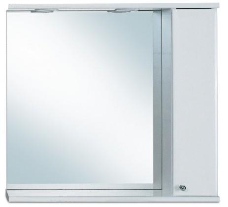 Skříňka nad umyvadlo Zrcadlová galerka G 249 s halogenovým osvětlením pravá (zrcadlo)