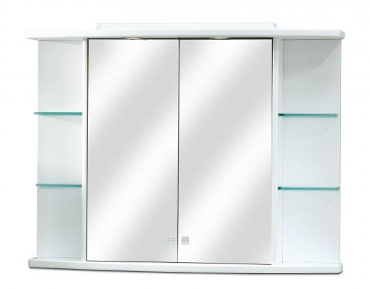 Skříňka nad umyvadlo Zrcadlová skříňka ZS 248 s halogenovým osvětlením (zrcadlo)