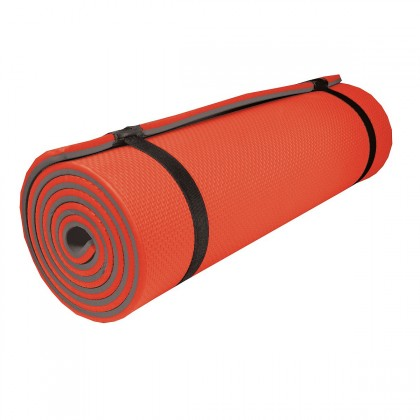 Sleephiker Big - Karimatka, 200x60x1,2 cm (oranžová, šedá)