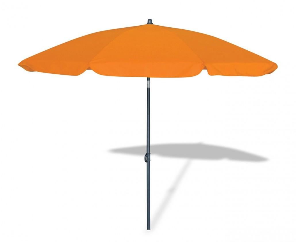 Slunečník Malibu - Slunečník, 180cm (oranžový)